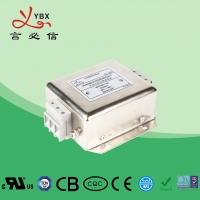 Wholesale Yanbixin Military Single Phase RFI Filter / 35D6 20A 120 250VAC AC RFI Filter from china suppliers