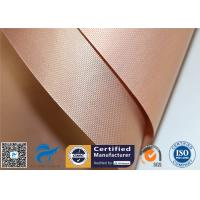 China 2PCS Coppery Reusable Non Stick PTFE Silicone Oven Liner BBQ Grill Mat on sale