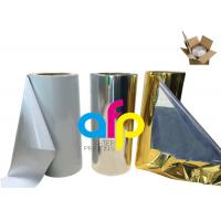 Wholesale Various Color Metalized Polyester Film For Lamination 180 - 1300mm Roll Width from china suppliers