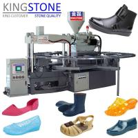 China Kingstone Machinery Rotary Plastic Shoes Injection Moulding Machine on sale