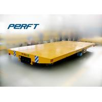 Wholesale Low voltage rail powered transfer flat cart for heavy material from china suppliers