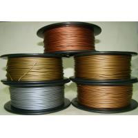 Wholesale Aluminum Copper Bronze Red Copper Brass 3d Printer Filament 1.75mm Good Gloss from china suppliers