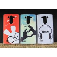 Wholesale Slim Shell PC Rubberized Customized Cell Phone Cases For LG G3 / Mobile Hard Back Cover from china suppliers