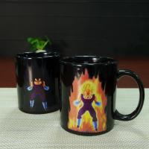 China Promotional gift  heat sensitive photo mug cartoon dragon ball vegeta on sale