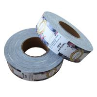 Wholesale Swing Roll Custom Garment Tags , Clothing Brand Labels Removal Ink Non Fade from china suppliers