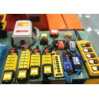 Wholesale 10 Ton Crane Spare Parts , Waterproof Wireless Radio Remote Control from china suppliers