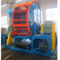 Wholesale Double Shaft Rubber Shredding Machine , Rubber Scrap Shredder Machine from china suppliers