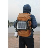 4W plastic frame solar panel with high lumen LED ,with 5V 1A USB output,charge mobile