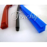 Wholesale Solid Silicone Rubber Seal Extrusion Profiles For Heat Resistant Weather Stripping from china suppliers