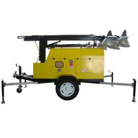 Wholesale Electric start portable light towers generator emergency mobile lights from china suppliers