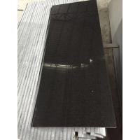 Wholesale G684 Fu Ding absolute Black granite tile counters for Door / window Sill from china suppliers
