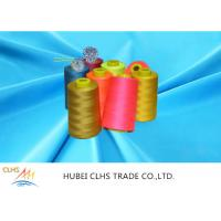 China Plastic Cone Dyed 100% Polyester Sewing Thread For Suits Garments on sale