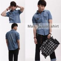 China Hot Selling Jeans Casual Shirt For Men 50528 on sale