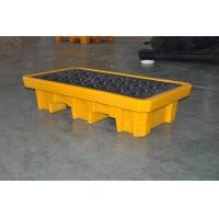 Wholesale Chemical Drum Spill Containment , 2 Drum Spill Pallet For Storing Oil / Solvents from china suppliers