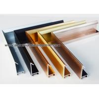 Buy cheap Modern Design Aluminium Picture Frame Mouldings With Narrow Frame Border from wholesalers