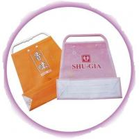 Customized Clothing Plastic Handle Bag Promotion Shopping Bags