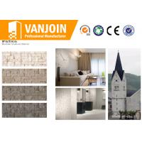 China 80 - 90℃ High Temperature Resistance Fireproof Lightweight Flexible Wall Tiles For Church Buildings on sale