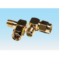 Wholesale Gold Plated Curved High Power RF Connectors UL94V-0 Material Contacting PCB Board from china suppliers