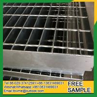 Wholesale FortCollins grating plates steel grate galvanized deck grating used for industry from china suppliers