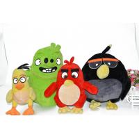 hot selling stuffed plush toys / angry bird toys / angry bird movie with nice quality
