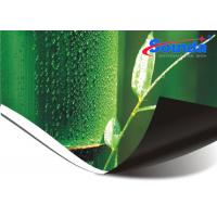 China Glossy Surface Backlit Flex Banner , High Resolution Posters Custom Outdoor Banners on sale