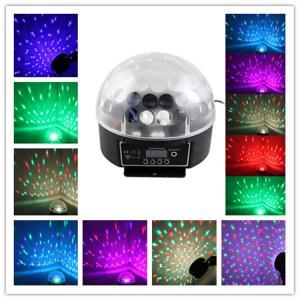 China Digital DMX Disco DJ Stage Lighting Crystal Ball Projector Effect Light RGB LED Light Bar on sale
