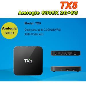 TX5 Android 6.0 Amlogic S905X Quad Core 64Bit 2g ram 8g rom smart box