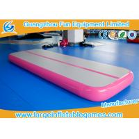 Wholesale Durable Large Inflatable Sport Games , Inflatable Air Mat With 3*1*0.2m Size from china suppliers