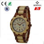 5ATM Waterproof Quartz Wood Watch / Handmade Wooden Watches For Women