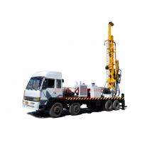 Wholesale 8X4 heavy duty truck mounted top head water well drilling rig by mud drilling and air compressor drilling from china suppliers