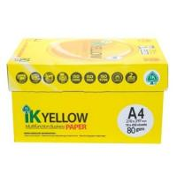 Wholesale IK Yellow copy Paper A4 80gsm/75gsm/70gsm from china suppliers