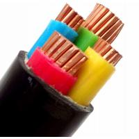 China Black 4 Core PVC Insulated Copper Wire Xlpe Insulated PVC Sheathed Cable on sale