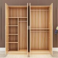 Wholesale Melamine MFC Surface Particle Board Wardrobe Aluminum Swing Door Trouser Rack from china suppliers
