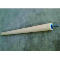 Conveyor Return Rollers With Blue Cover Power Plant Return Idler Rollers