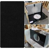Wholesale Black Natural Granite Countertops , High Density Solid Black Granite Countertops from china suppliers