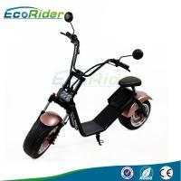China LCD screen 1000W Power 2 Wheel Electric Scooter with CE mark mirror , 50KM Max Speed on sale