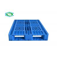 Wholesale Eco - Friendly Virgin Hdpe Steel Reinforced Plastic Pallets Heavy Duty For Industrial from china suppliers