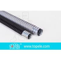 Buy cheap Electrica Grey Galvanized Steel PVC Flexible Conduit And Fittings from wholesalers