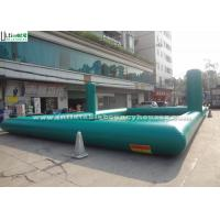 Wholesale Commmercial Adults Inflatable Games , Green Inflatable Volleyball Court from china suppliers