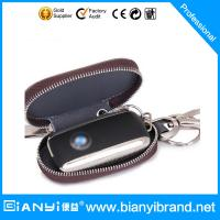 Wholesale Promotional Custom leather key holder/car key bag from china suppliers