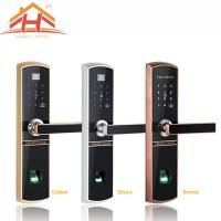 China Bluetooth Fingerprint Door Lock Remote Control with IC Card Function on sale