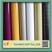 China Anti Scratch Rigid PVC Transparent Film for Covers / Shower Curtain 0.10mm - 0.50mm on sale