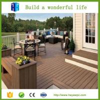 Wholesale HEYA waterproof wpc outdoor decking board prices list Chinese supplier from china suppliers