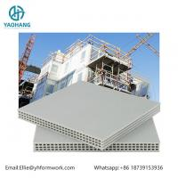 Wholesale High Quality PP Hollow Plastic Formwork 12mm white color from china suppliers