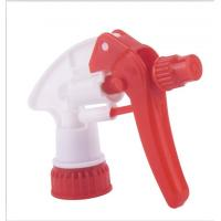 Wholesale Cleaning Agent PP Lotion Pump Dispenser , Red Trigger Sprayer With 28 / 400 Closure from china suppliers