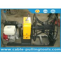 Buy cheap Honda Gasoline Engine Hoist Cable Winch Puller Tight line WIth Big Drum 5t from Wholesalers