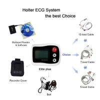 Wholesale 0.05-60HZ Holter ECG Monitor 12 Channel / 3 Channel Connect With White Recorders from china suppliers