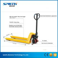 Wholesale 2 ton hydraulic hand lift stacker manual forklift pallet truck from china suppliers