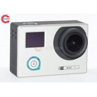 Wholesale Underwater 30m Sports HD DV With Adjustable Angle , HDMI 4K 24 Fps Action Camera from china suppliers