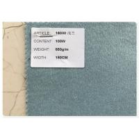 Blue Series 100% Double Faced Wool Fabric 720 Gram Per Meter For Women'S Fall Coats